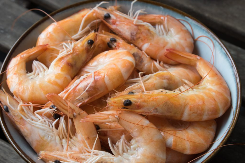 Foods High in Arginine - Shrimp